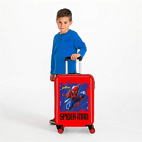 Marvel Spiderman Street Valigia per bambini 55 Centimeters 34 Rosso (Rojo)