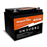 Best Marine Cranking Batteries - Ampere Time 12V 50Ah Lithium LiFePO4 Battery, Ideal Review