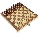 MQJ Chess Plegable Magnetics Conjunto Internacional de Ajedrez de...