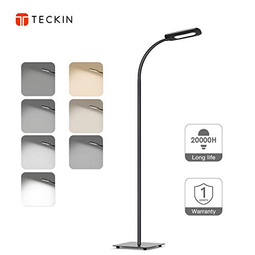 Floor Lamp, LED Floor Light, TECKIN...
