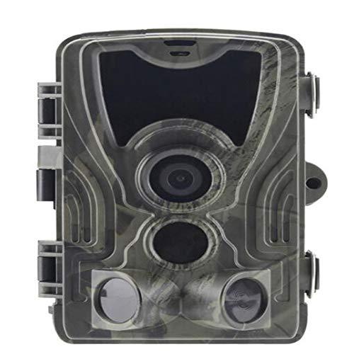 YZXZM Wildes Tier Kamera 16MP 1080P HD Offroad-Spiel Kamera-Jagdspiel Kamera mit Infrarot-Nachtsicht-Tracking-Überwachung IP66 wasserdichtes Design
