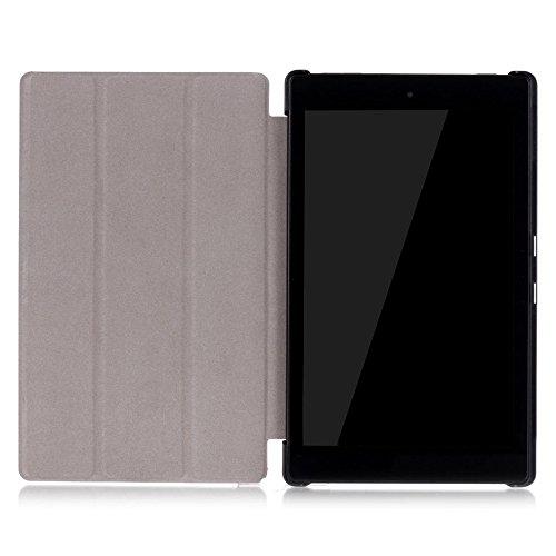 Lobwerk Hülle für Amazon Fire HD8 (2016/2017/2018) 8.0 Zoll Schutzhülle Etui Tablet Tasche Smart Cover HD 8 NEU