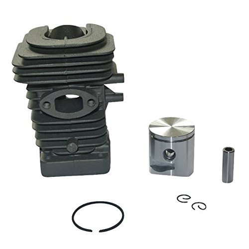 JRL Conjunto de cilindro y pistón de 39 mm para sierra de cadena Husqvarna 240 236E 236 235