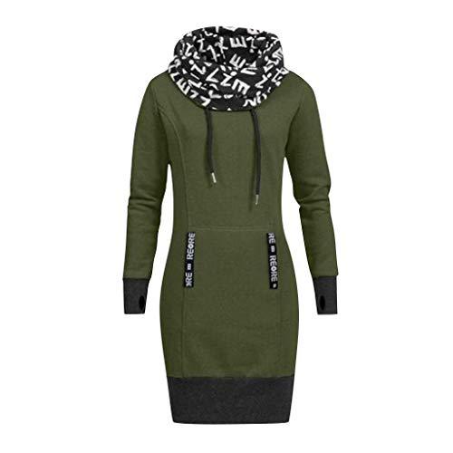 Dames Pullover met lange mouwen Dames Klassieke Cowl Neck Plaid Trekkoord Skew Button Sweatshirt Tuniek Tops Blouse Maat 8-16