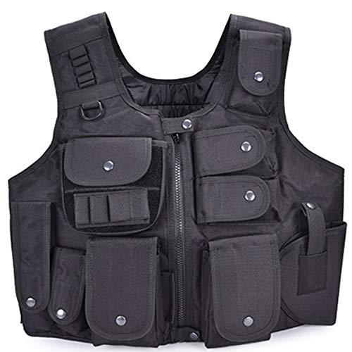 Tactical Vest Outdoor Armor Vest Machine Carrier Verstelbare Combat Training Vest Chest Protector Jacht Vesten CS Gaming Politie