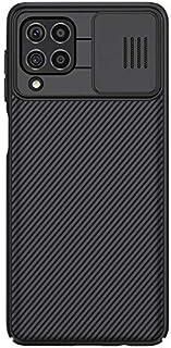 غطاء حماية لجهاز سامسونج جالكسي M62/ F62، غطاء حماية كام شيلد سلسلة برو مع غطاء كاميرا منزلق لجهاز سامسونج جالكسي M62 وF62...