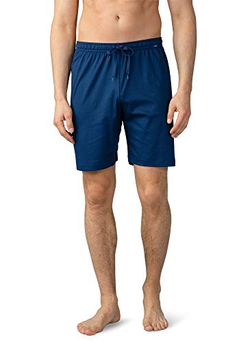 Mey Night Basic Lounge Herren Homewear Hosen Blau 52