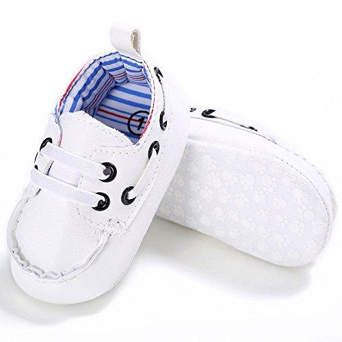 Erste Schritte Schuhe Kind H2, Schuhe Baby Kind Junge Mädchen Wiege Leder weiche Sohle Schuhe Turnschuhe WH / 2 Kinder 3-6 Monate Günstige Stiefel Turnschuhe für Kindertag