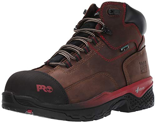 Timberland PRO Men's Bosshog 6' Composite Toe Waterproof Industrial Boot, Brown, 10.5 M US