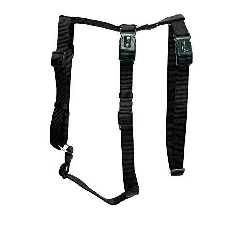 Hundegeschirr ausbruchsicher Professional No Escape, L: 50-70cm schwarz