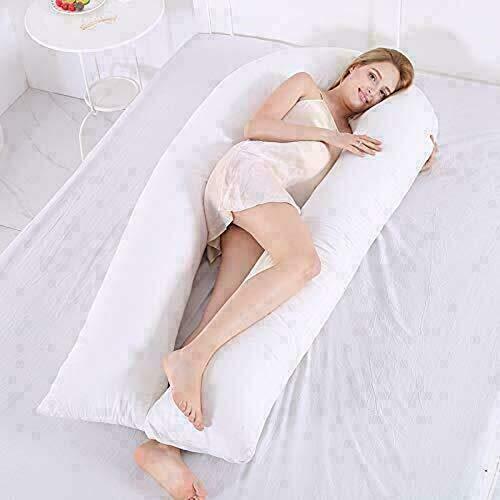 GB TEXTILE 9ft Comfort U Pillow - Full Total Body Pregnancy Maternity...