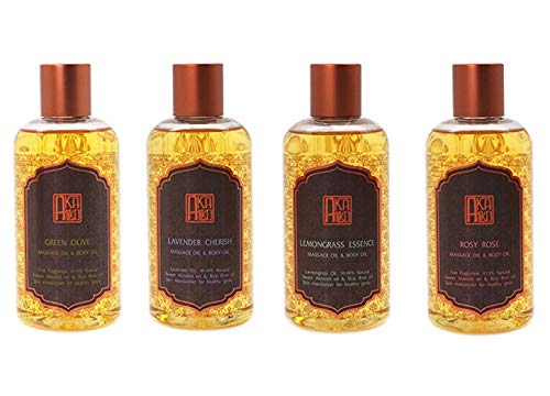 For Sale! AKALIKO Body Oil and Massage Oil Set 20.