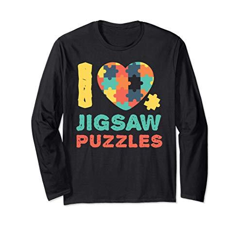 I Love Heart Jigsaw s    Lover Manga Larga