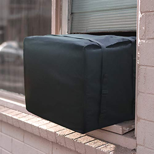 JIWINNER 17' x 25' x 21' Window Air Conditioner Cover - Winter AC Window Unit Cover