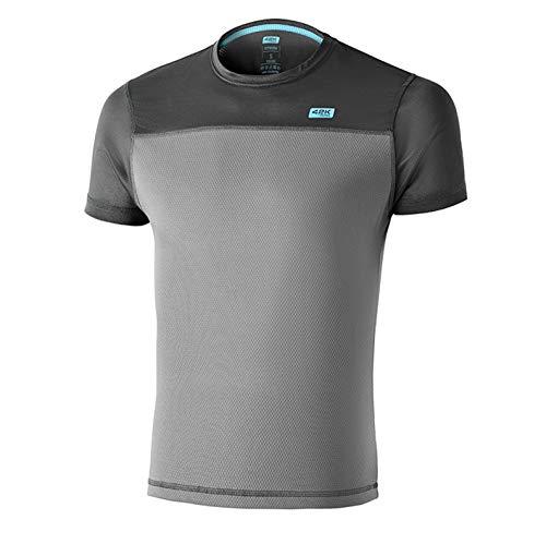 42K Running - Camiseta técnica 42K SYRUSS Hombre Dark Frost M