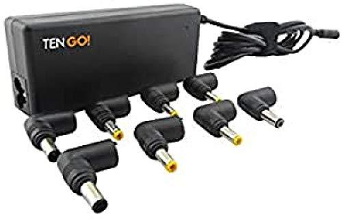 TenGO RT3093BT Interior 75W Negro Adaptador e inversor de Corriente - Fuente de alimentación (100-240, 75 W, Interior, Universal, CA a CC, Cortocircuito)