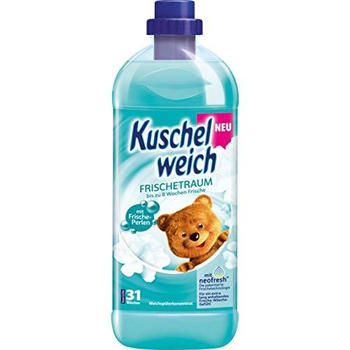 6er Vorratspack Kuschelweich Weichspüler 1000ml Frischetraum (6 * 1000ml)