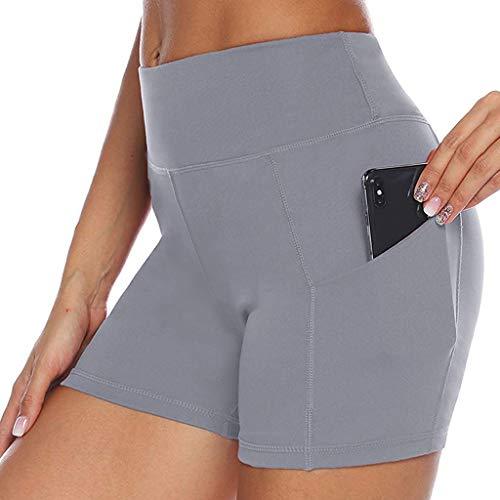 2020 Pas Cher Pantalon De Yoga Pure Pocket Taille Haute Hanche Stretch Cinq Points Femmes Été Coton Grande Taille Elastic Out Taille Haute Leggings Sports Serrés Yoga Short Pantalon