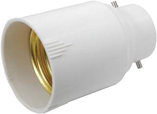 adaptador de Casquillo, B22 en E27, B22/E27, Paquete individual, B22-E27 60|watts