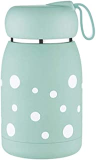 Thermos Cup, Stainless Steel Water Bottle/Leakproof Tumbler Double Walled Vacuum Flas/Light Green