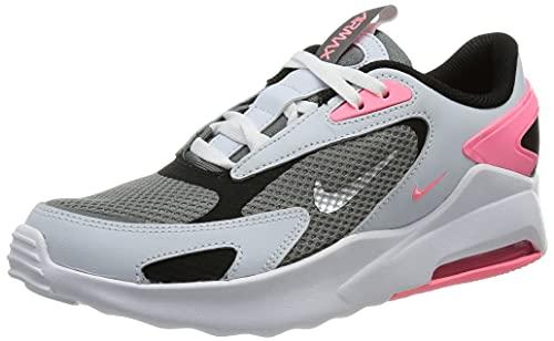 Nike Air Max Bolt, Scarpe da Corsa, Smoke Grey/Metallic Silver-Football Grey, 37.5 EU