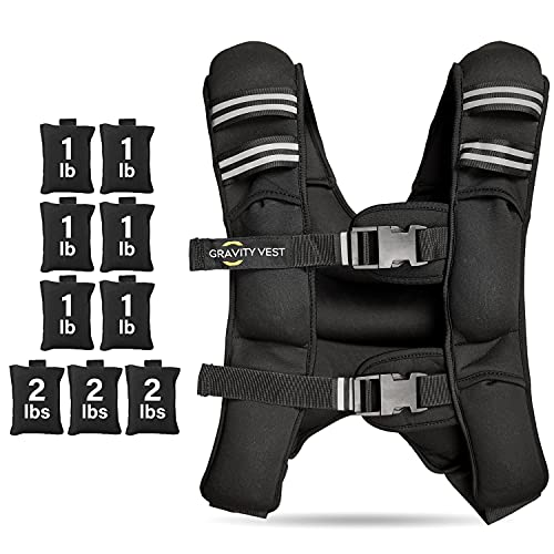 Weighted Vest for Men Workout - Weighted Vest Women - Adjustable Weighted Vest Men for Strength Training