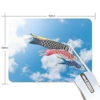 マウスパッド かわいい 鯉のぼり 晴れ 青い空 高級 ノート パソコン マウス パッド 柔らかい ゲーミング よく 滑る 便利 静音 携帯 手首 楽