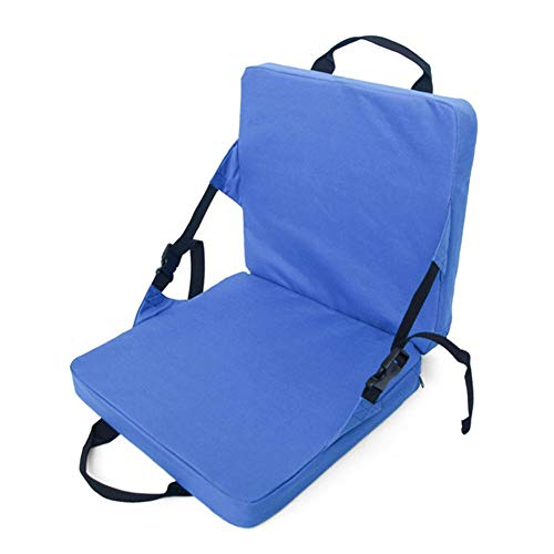 Chair Stadium Seat - Stadium Seat Cushion Canoe Waterproof Chair with Back Support for Hiking Camping Boating