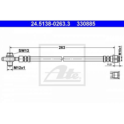 ATE 24.5138-0263.3 Bremsschlauch