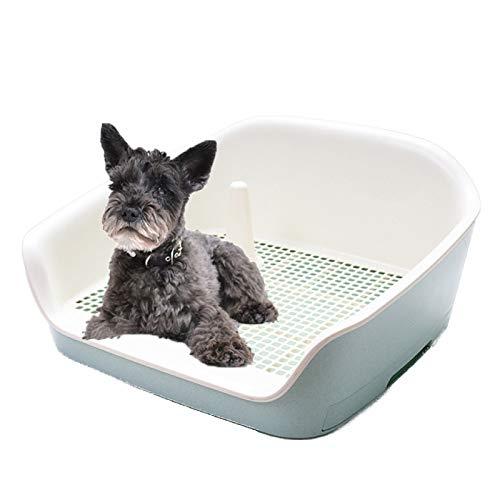RTVZ Huisdier Hond Toilet Trainingsplaat Potty Hond WC-hek Urinale Lade Type Urine Trog Met Urinale Kolom - Geschikt voor Kleine En Middelgrote Honden, Katten