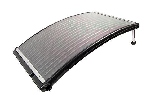 "Poolmaster 59026 Heater Slim Line Above-Ground Solar Power Swimming Pool Water Heat, 43"" Long x 27"" Wide, Black"