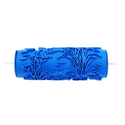 5 '' DIY Geprägte Malerrolle Strukturwalze Malerwalze mit Muster, Muster Auswählbar - # 6