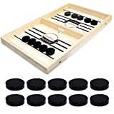 Table Battle Game, Neo LOONS Fast-paced Table Desktop Ice Hockey Game for Party Home Parent-Child Interaction Toys, Portable Sports Battle Board Games Toy Set for Traveling Camping