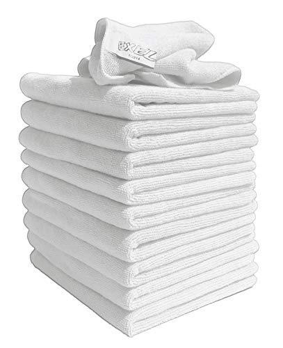 Robert Scott - Confezione da 20 panni in microfibra Exel Magic per pulizia, colore: Bianco Pulisce senza sostanze chimiche Panni in microfibra antibatterici per pulire senza lasciare tracce e macchie