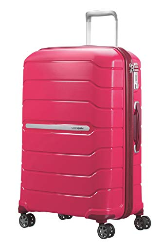 SAMSONITE Flux - Spinner - 3, 50 kg Koffer, 68 cm, 95 Liter, Granita Red