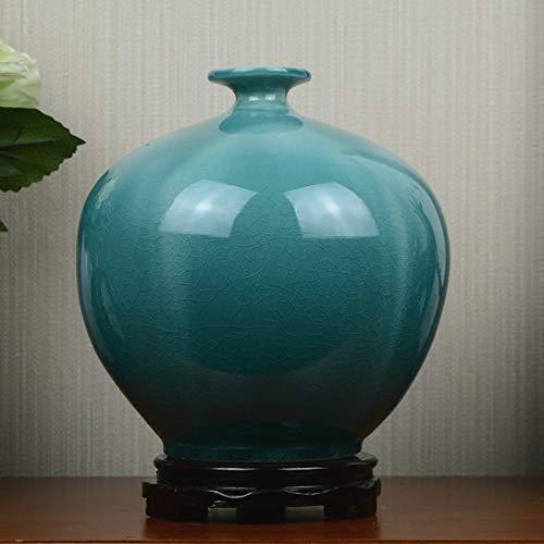 ZYG222 Keramische vaas blauw ijs gebroken muur patroon model kamer Europese stijl woonkamer thuis zachte decoratie