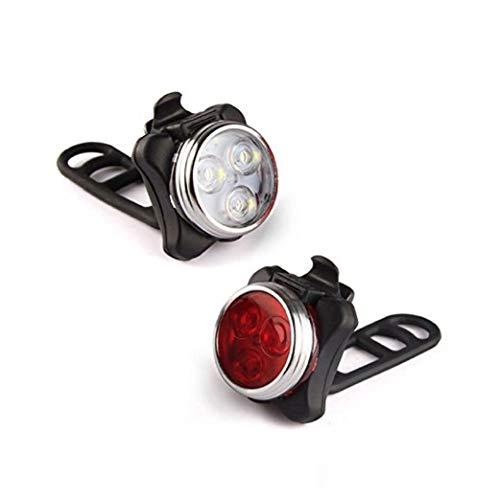 1 Paar Led Fahrrad-licht Sehr Hell Fahrrad Led Licht-Einfassung an Nebeln Lenker Sattelstütze Rot Und Weiß Frosch-licht Durch Einfaches Radfahren