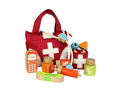 Eduplay 120344 dokterstas, 11 delen, unisex kinderen, één maat