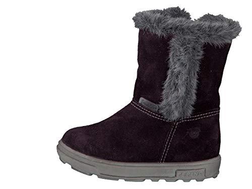 RICOSTA Pepino by Fille Bottes & Boots USKY, Bottes d'hiver pour Enfants, Chaussures d'extérieur,doublées,imperméables,Plum,26 EU / 8 UK