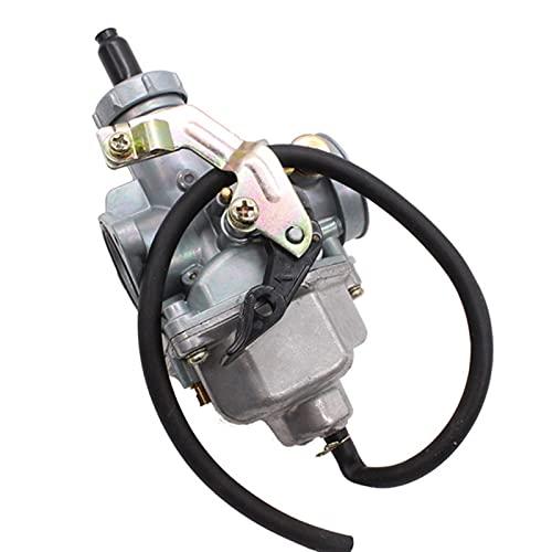 DunMuan Carburador de la Motocicleta PZ30 30mm Carburador PZ30 Carb Bomba aceleradora de Carreras para HO.NDA CG125 para 175CC 200CC 250CC ATV DunMuan (Color : Cable Choke pz 30)