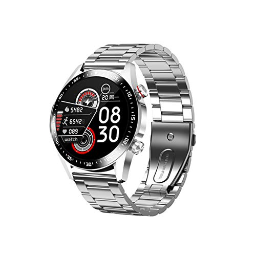 E1-2 Watch Smart Bluetooth Llamada A Bluetooth IP67 IP67 Impermeable Monitor Monitor De Monitor De Mensaje Recordatorio Pantalla Táctil Completa 2021 Nuevos Deportes Smartwatch Para Android Ios,H
