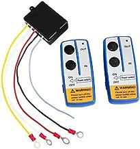 shsyue 12V Winch Wireless Remote Control Kit For Truck Jeep ATV Car Truck Cordless