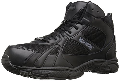 Magnum Men's M.U.S.T. Mid Waterproof Tactical Boot, Black, 15 M US