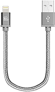 LAX iPhone Charger Lightning Cable - MFi Certified Durable Braided Apple Lightning USB Cord for iPhone 11/11 Pro Max/XS Ma...