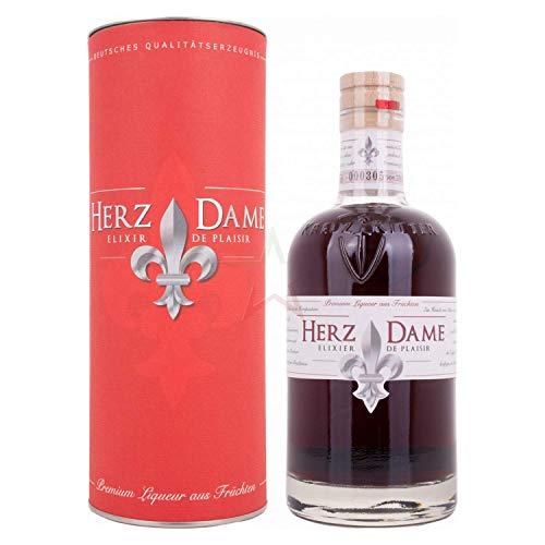 Herzdame Elixir De Plaisir 21% Volume 0,5l in Geschenkbox Liköre