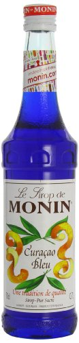 Monin Premium Blue Curacao Syrup 700 ml
