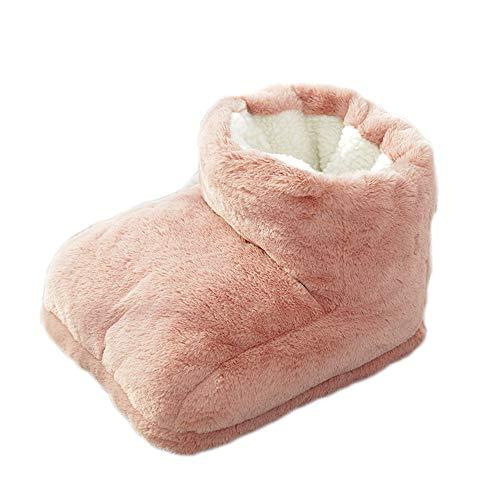 FußWärmer,FusswäRmer Elektrisch mit 3 Temperaturstufen,HöChste Temperatur 45°C,Weich,Stabil,GemüTlich,Geschenke,Füsse Werden Angenehm Warm Gehalten,für BüRo oder Hause,Unisex,Rosa