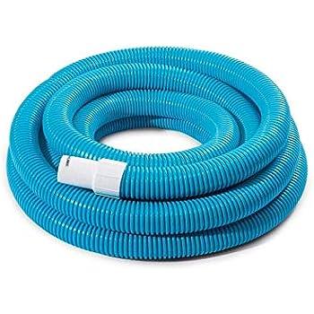 well2wellness/® Poolschlauch//Schwimmbadschlauch aus E.V.A 15 m 38 mm mit Schlaucht/üllen an beiden Enden