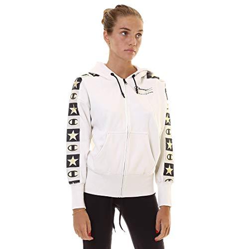 Champion 112492 ES001 Damen Hoodie Jacke Beige|L