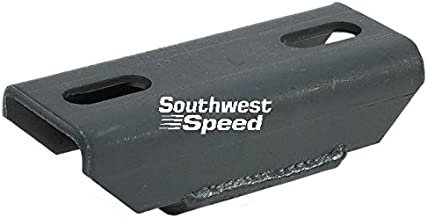 NEW SOUTHWEST SPEED CHEVY SOLID TRANSMISSION MOUNT, REPLACES MOROSO # 62600, FITS POWERGLIDE, TH-350, TH-400, BORG-WARNER, MUNCIE, SAGINAW, CHRYSLER 4-SPEED, DOUG NASH 5-SPEED TRANSMISSION
